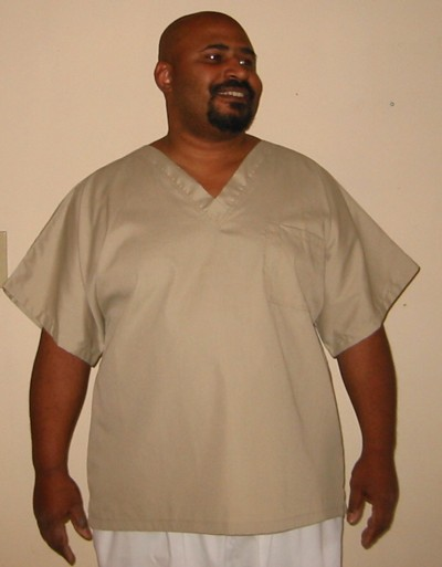 be6a92ef393 Large Size Scrubs- Unisex Solid Scrub Top now size Medium to 12x ...